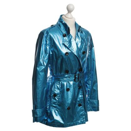 Burberry Trenchcoat im Metallic-Look