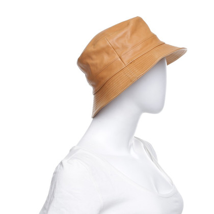 Hermès Fisherman's hat made of leather