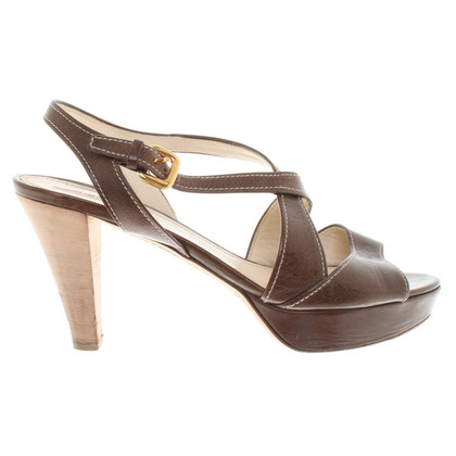 Prada Sandals in brown