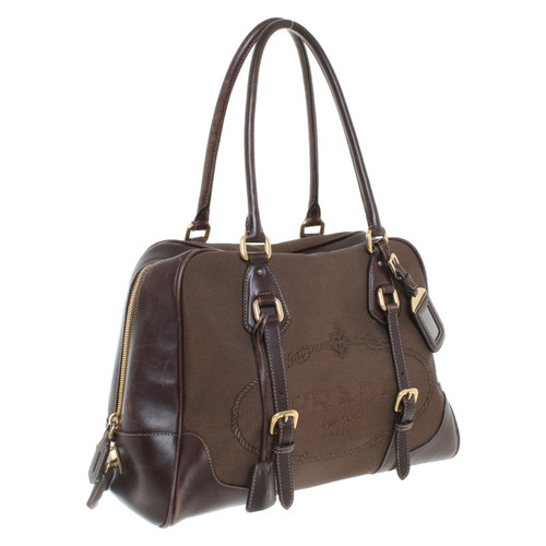 d8b296480f1f Prada Bowling bag - Second Hand Prada Bowling bag buy used for 369 ...