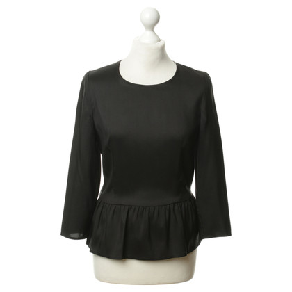 Isabel Marant Silk top with peplum