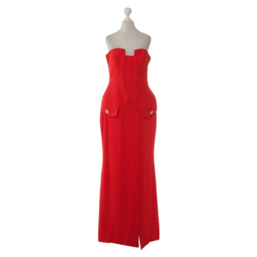 Versace For H M Corset Dress In Red