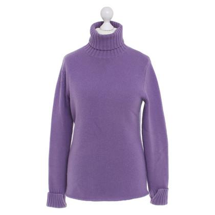 Allude Cashmere sweater in lilac