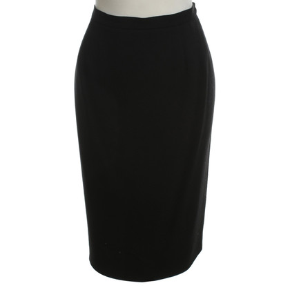 Emanuel Ungaro Pencil skirt in black