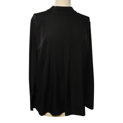Hugo Boss Seidenbluse in Schwarz