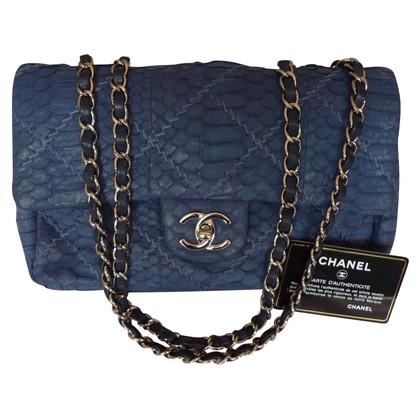 "Chanel ""2.55 Flap Bag Medium"" Python leather"