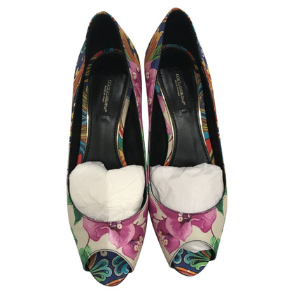 Dolce & Gabbana Print pumps