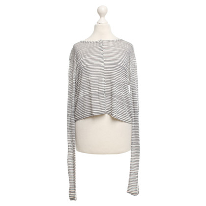 Schumacher Cardigan with striped pattern