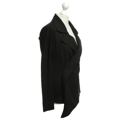 Yohji Yamamoto Eleganter Blazer in Schwarz