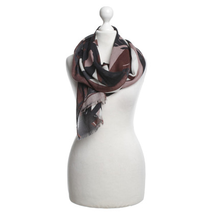 Escada Light scarf with print