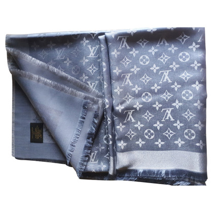 Louis Vuitton Monogram Shine cloth in anthracite / silver