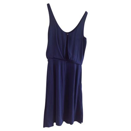 Chloé Blauwe zijden jurk