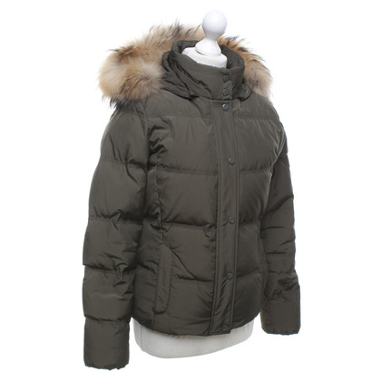 Woolrich Down jacket in olive