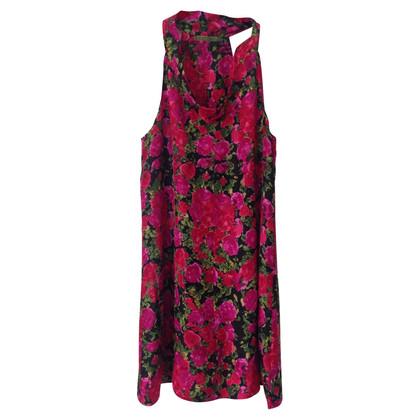 Velvet zijden jurk