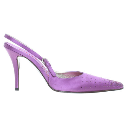 Walter Steiger With glitter slingback Pumps