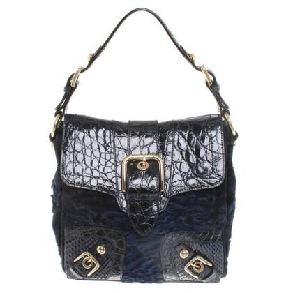 Dolce & Gabbana Handbag made of fur and leather