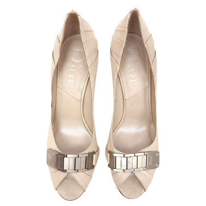 Christian Dior Peptoes with metal decoration