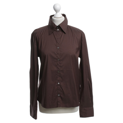 Max Mara Shirtblouse in brown