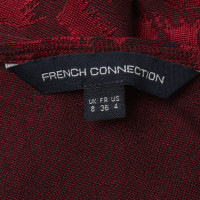French Connection Kleid in Bordeaux