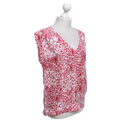 Comptoir des Cotonniers Blouse with floral pattern