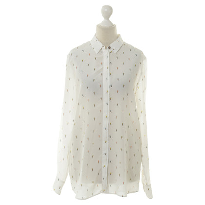 Paul Smith Zijden blouse wit