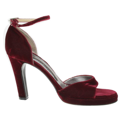 Sergio Rossi Peeptoes in Bordeaux