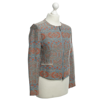 IQ Berlin Jacket with colorful pattern