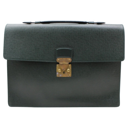 Louis Vuitton Briefcase made of taiga leather