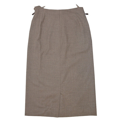 Hermès skirt wool