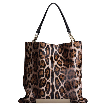 Jimmy Choo Tote bag with fur trim