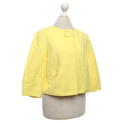 Laurèl Short jacket in yellow