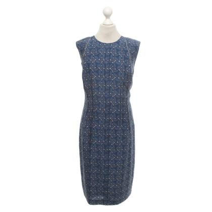 Windsor Patterned silk dress