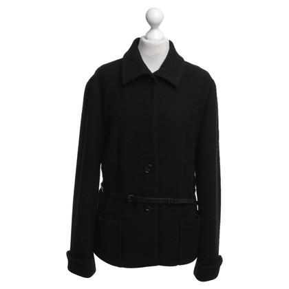 René Lezard Short jacket with belt
