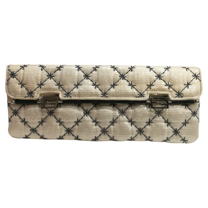 Fendi Clutch in Weiß