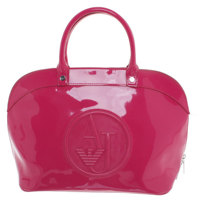 Armani Jeans Handtasche in Pink
