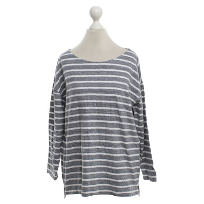 J. Crew top with striped pattern