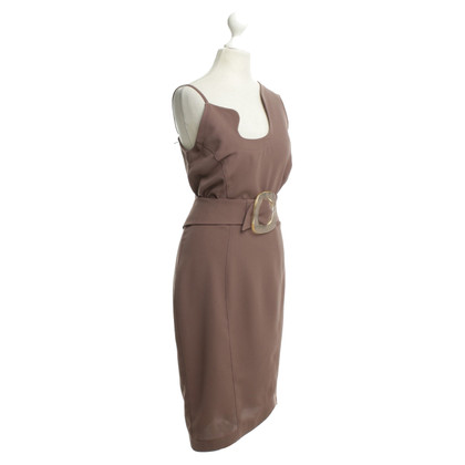 Mugler Cocktailkleid in Mauve