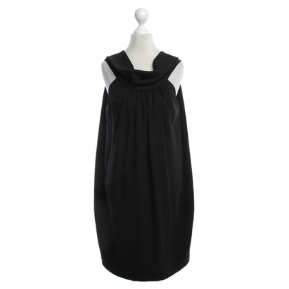Iceberg Flared Dress in zwart