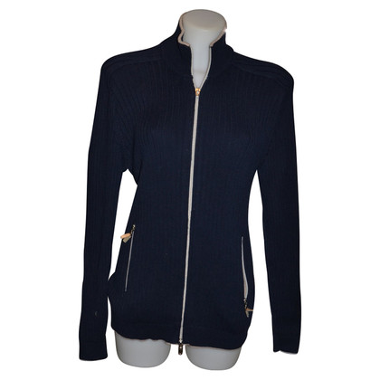Brunello Cucinelli Blaue Strickjacke