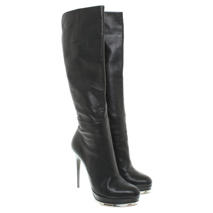 Gianmarco Lorenzi Plata boots in black