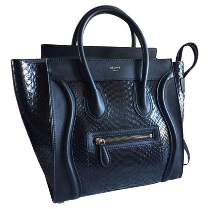 """Céline """"Micro Bagage Bag"""" Python Leather"""