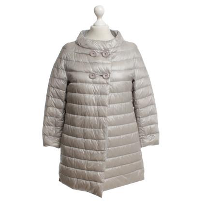 Herno veste réversible en gris clair