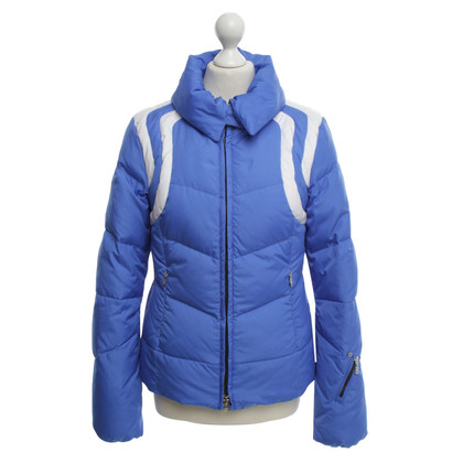 Bogner Jacket in Blauw / Wit