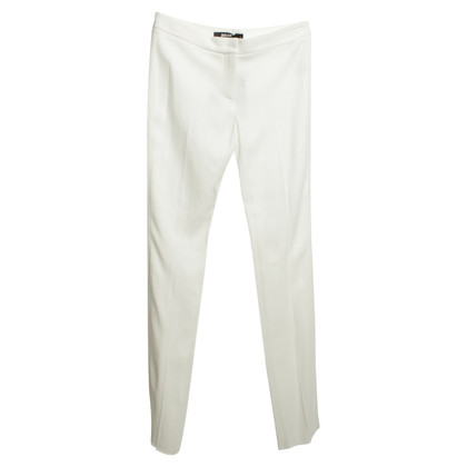 Just Cavalli Elegante broek in wit