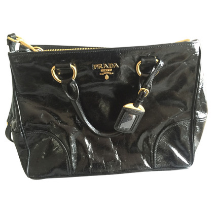 Prada Vitello glans tas
