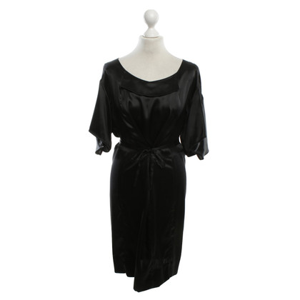 Stella McCartney Silk dress in black