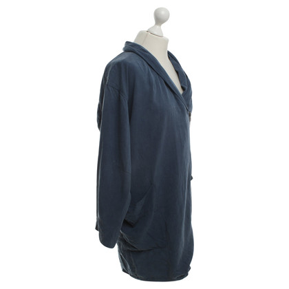 Wood Wood Long cut jacket in medium blue