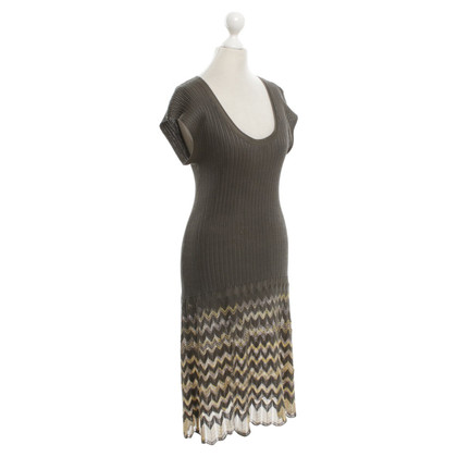 Missoni Knitted dress in green