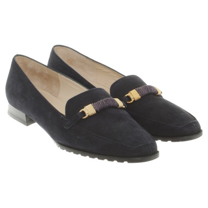 Bally Lederloafer in dark blue