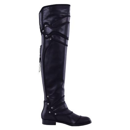 Dolce & Gabbana Overknees en noir